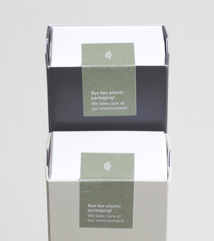 Verpackung mit Siegel