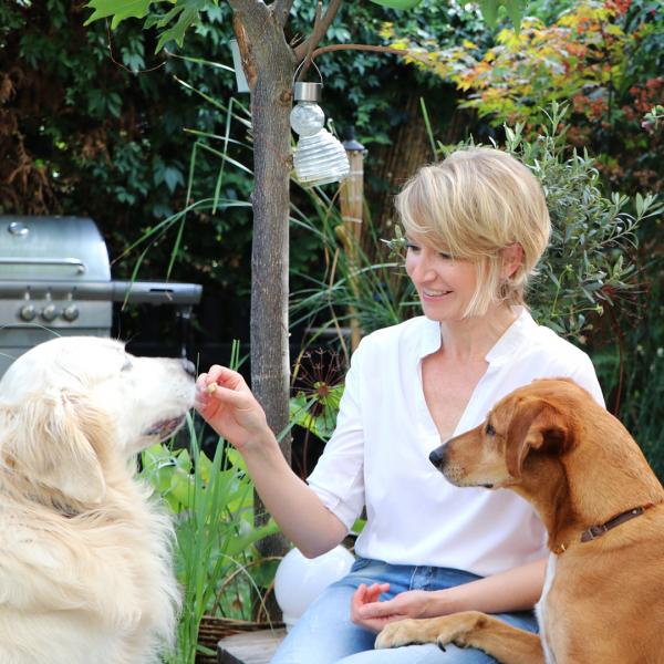 Tiertherapeutin und Dozentin Alexandra Schubert