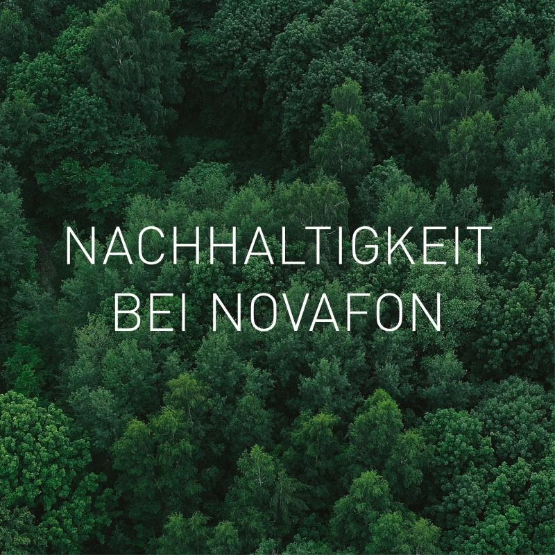 Nachhaltigkeit bei NOVAFON