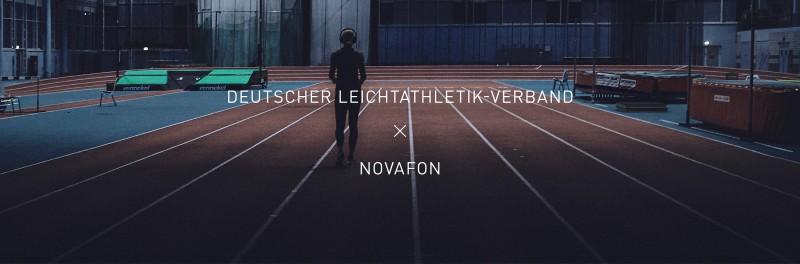 NOVAFON: Offizieller Partner der Deutschen Leichtathletik-Nationalmannschaft